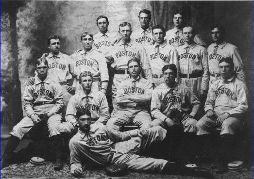 Image result for 1901 Red Sox