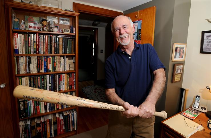 Natick's Crehan takes a swing at Sox history Framingham MA The MetroWest Daily News