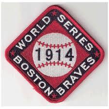 Boston Braves 1914 Patch